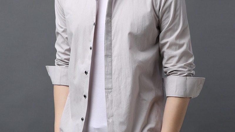 Men Casual Shirts Fashion Design Shirt