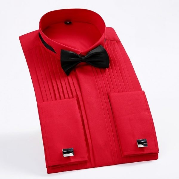 Cuff Tuxedo Shirt Bridegroom Shirt